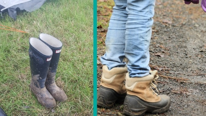 Wellies or Walking Boots? The Eternal Dilemma